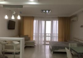 Вероника 6 этаж однокомнатный 601 - Крым Семидворье  лучший отдых в Алуште  первая линия Эллинг