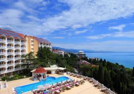 пос. Лазурный все включено - Крым  отдых в Алуште отель с бассейном  Профессорский уголок