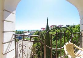 Алвис  - Однокомнатный с балконом и видом на море (2+1)